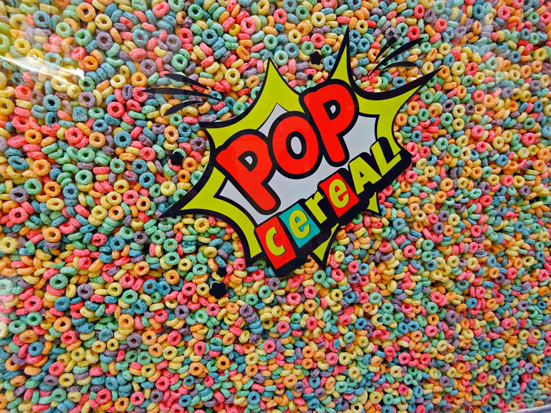 pop cereals