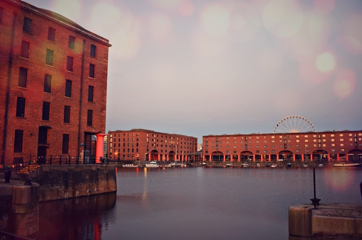 vany visits_liverpool_albert dock bokeh