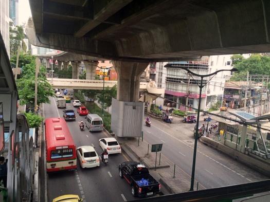 vany visits bangkok skytrain