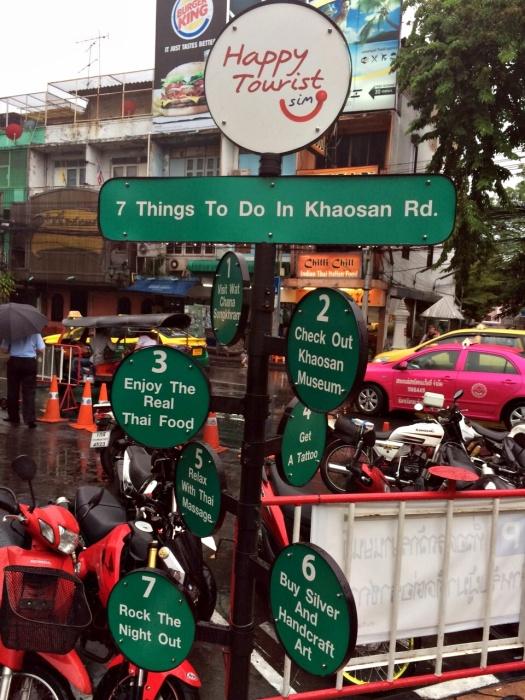 vany visits bangkok thailand khao san road