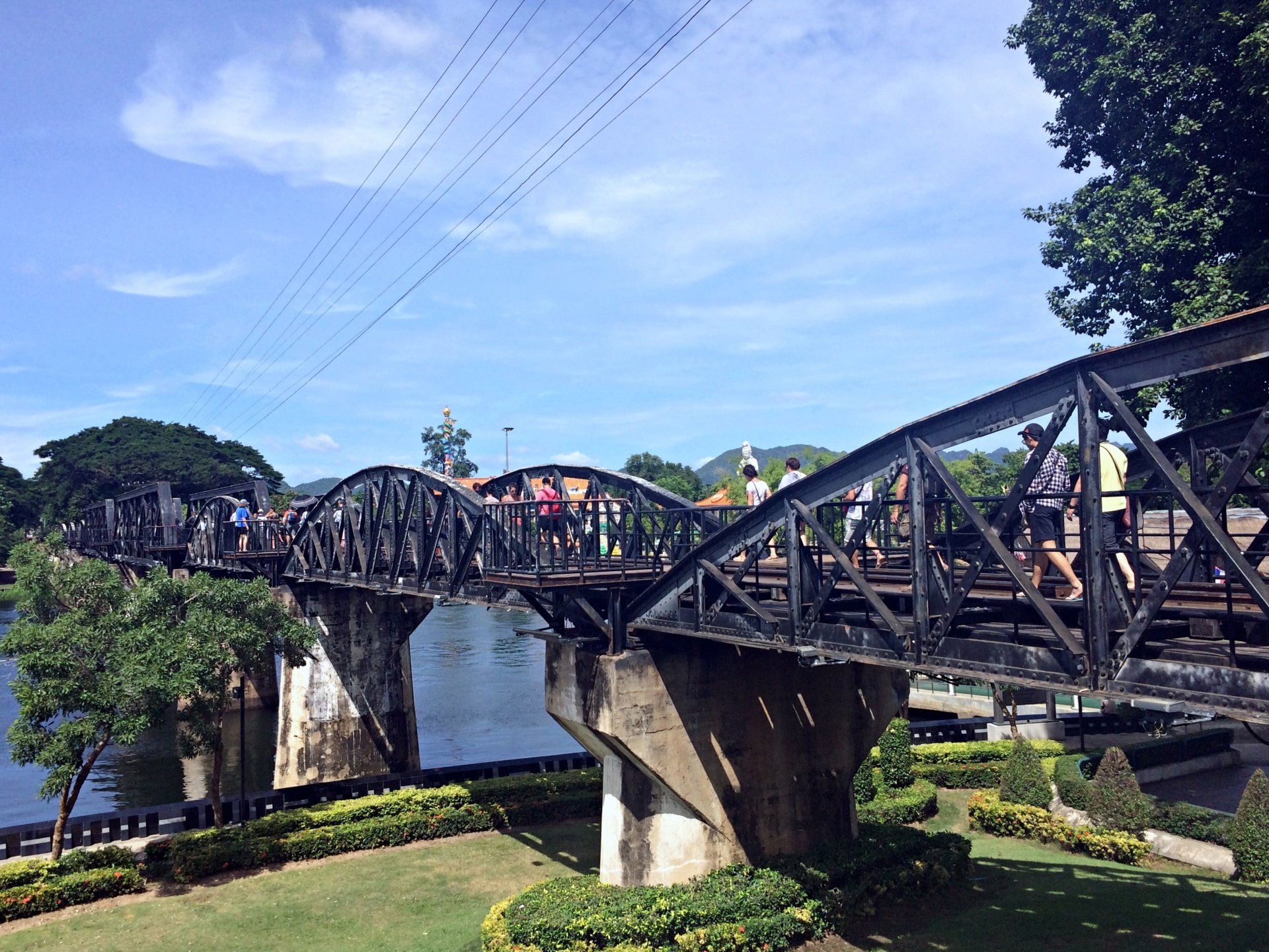 vany visits kanchanaburi thailand