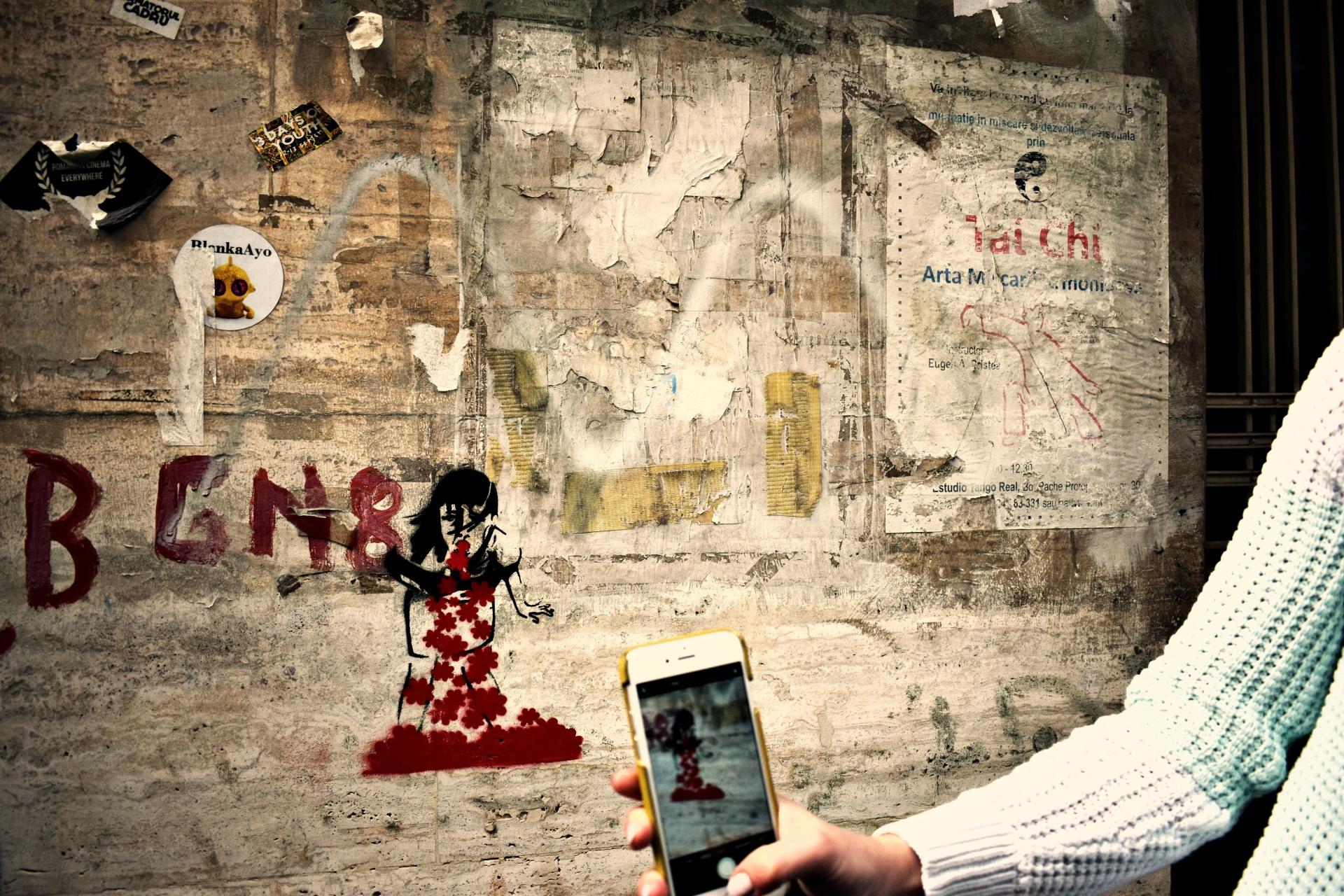 vany visits_streetart bukarest